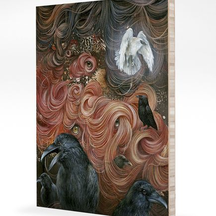 Dan May Art Print - Where Have All The Monsters Gone? - Bamboo Panel Edition