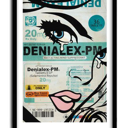 Ben Frost + Denial Art Print - Denialex-PM - Limited Edition Prints