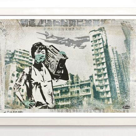 Eddie Colla Art Print - Air Kowloon - Limited Edition Prints