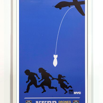Essam Art Print - Drone Campaign #2 - Limited Edition Prints - Framed