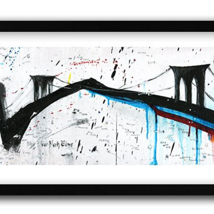 Gregory Siff Art Print - Limited Edition Prints - New York Time
