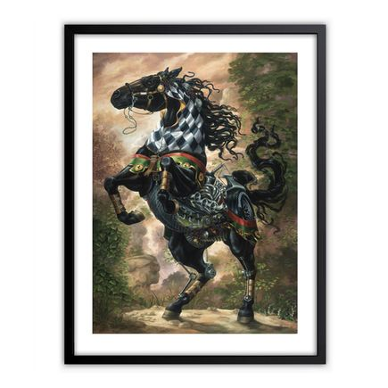 Heidi Taillefer Art Print - Black Jack