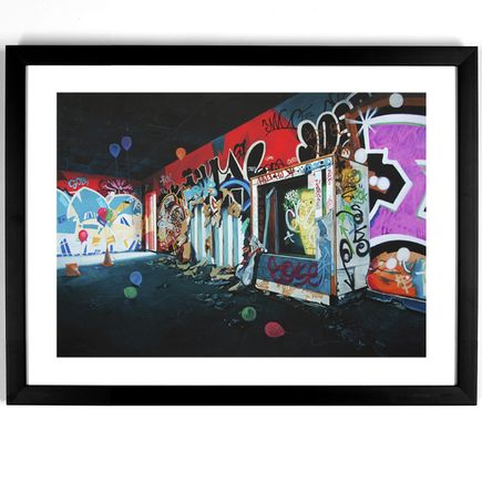 Jessica Hess Art Print - Providence Playground - Hand-Embellished Edition