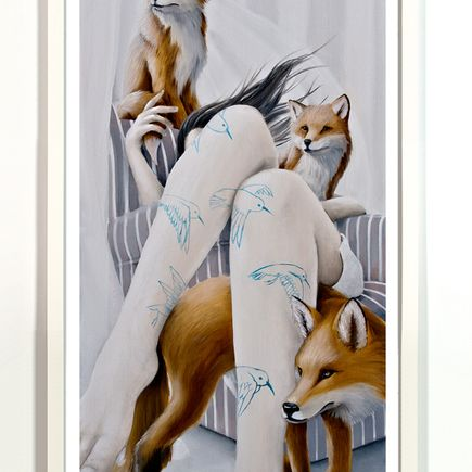 Joey Remmers Art Print - The Watchers - Standard Edition