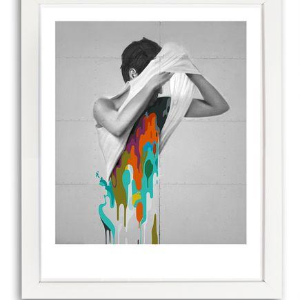 Johnny Robles Art Print - Detached Man