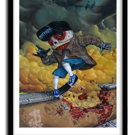 Jonathan Bergeron Art Print - Sk8 & Destroy