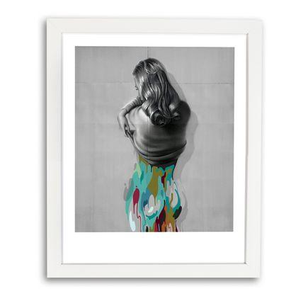 Johnny Robles Art Print - Detached Woman