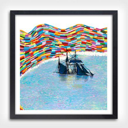 Joshua Petker Art Print - Beached