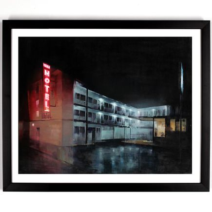 Kim Cogan Art Print - Surf Motel