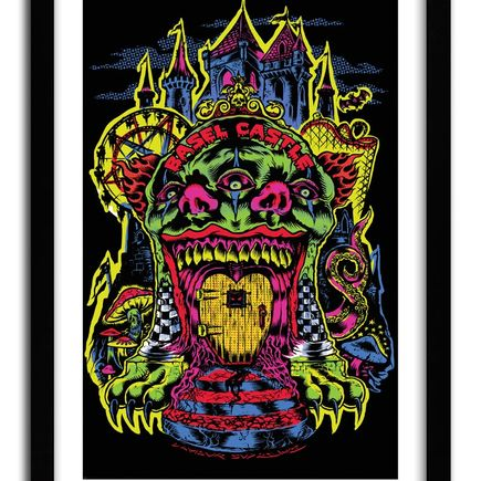 L'Amour Supreme Art Print - Basel Castle 2012 Official Art Print