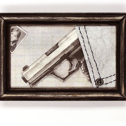 Mary Williams Original Art - Empty Your Pockets