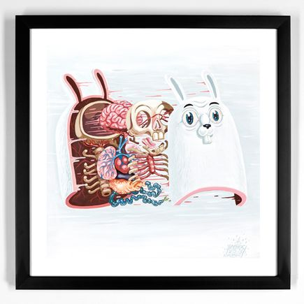 Nychos Art Print - Dissection Of The White Rabbit
