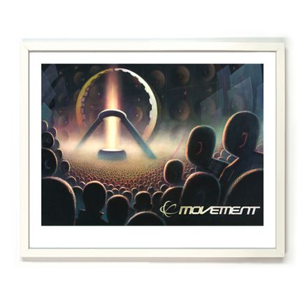 Ron Zakrin Art Print - Transmission