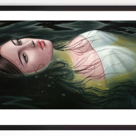 Sarah Joncas Art Print - Ophelia - Limited Edition Prints