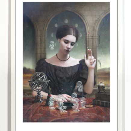 Tom Bagshaw Art Print - Cassandra