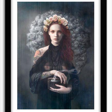 Tom Bagshaw Art Print - Pandora