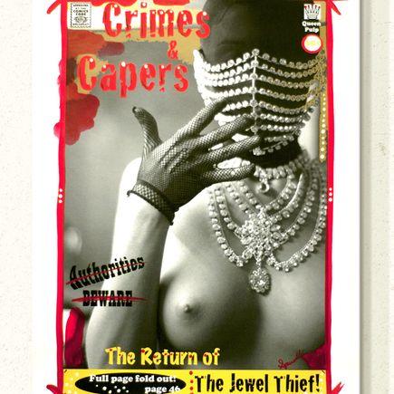 Victor Spinelli Art Print - The Jewel Thief