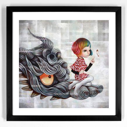 Yosuke Ueno Art Print - Cloud Dragon Head