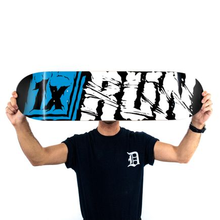 1xRUN Editions Art Print - 1xRUN Logo by Askew - Skate Deck