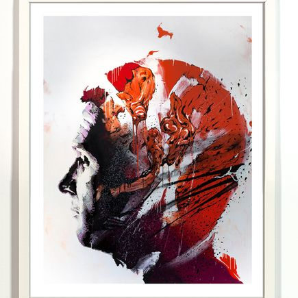Askew One Art Print - Thunderclap Headache - Limited Edition Print