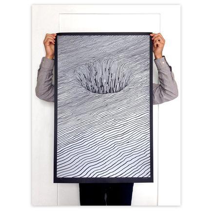 Brendan Monroe Art Print - Hole - Silver Edition