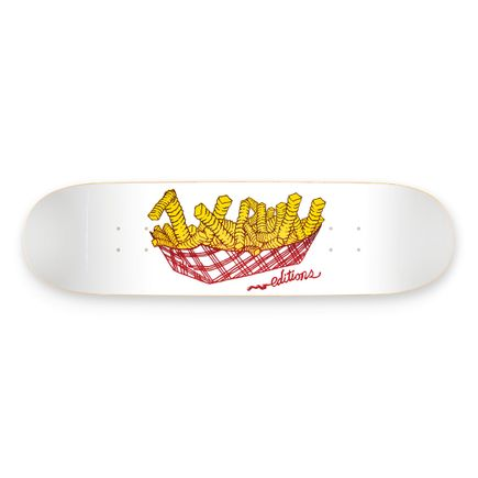 1xRUN Editions Art Print - Order Up Logo by Johnny Alexander - Skate Deck