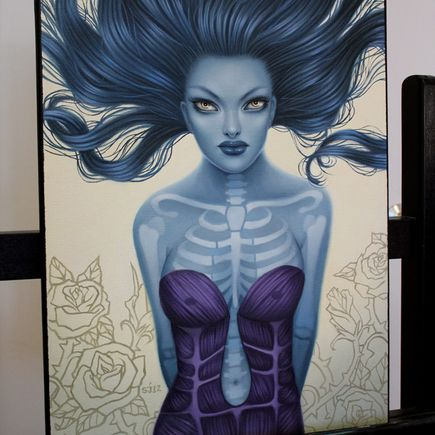 Sarah Joncas Original Art - Skin Deep - Original Painting