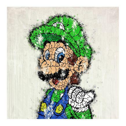 Tilt Art Print - Luigi