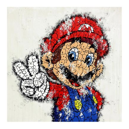 Tilt Art Print - Mario