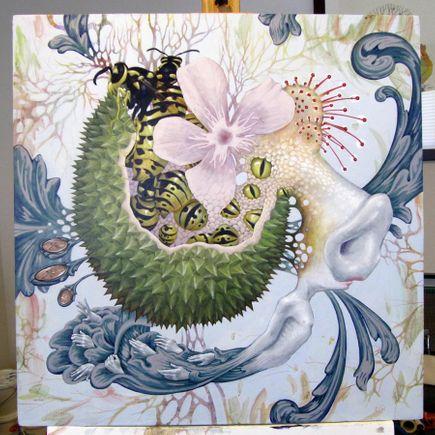 Xiau-Fong Wee Original Art - Riches - Original Painting
