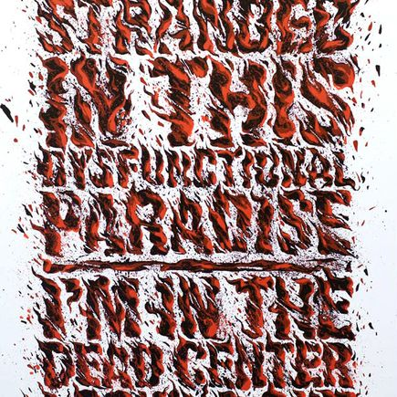 Askew One Art Print - Stranded Red/White Edition