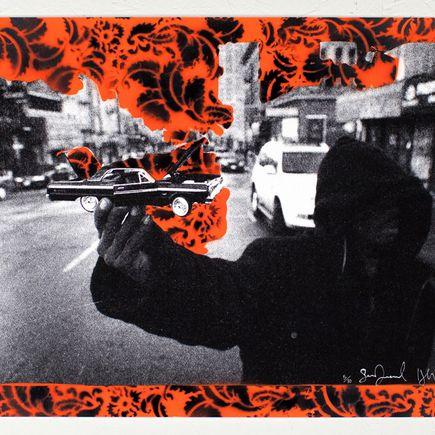 Desmond/Leeman Art Print - Steady Rollin' - Orange Variant