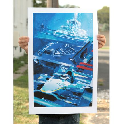 Camilo Pardo Art Print - Detroit Grand Prix - Limited Edition Prints