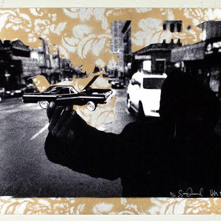 Desmond/Leeman Art Print - Steady Rollin' - Gold/Silver Variant