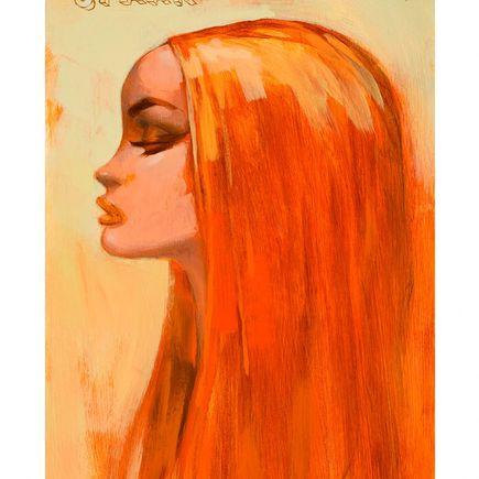Glenn Barr Original Art - Spark