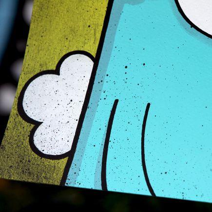 Kill Taupe Original Art - Don't Fear... (Green Edition)