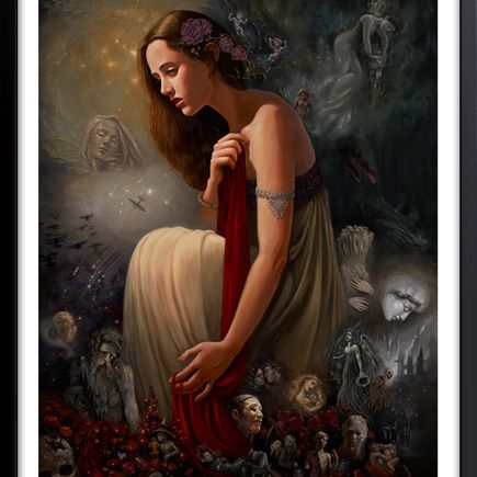 Mia Araujo Art Print - Requiem (For The Damaged)