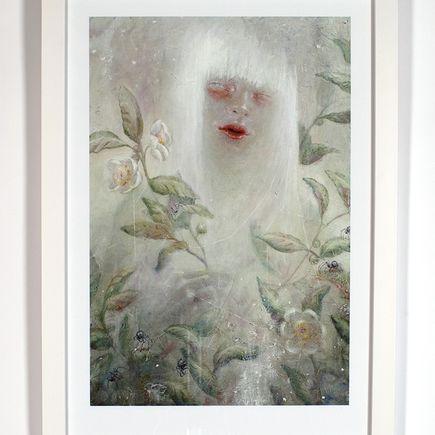 Xiau-Fong Wee Art Print - Reviving Camellia