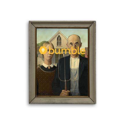 Denial Original Art - American Bumble - Original Artwork