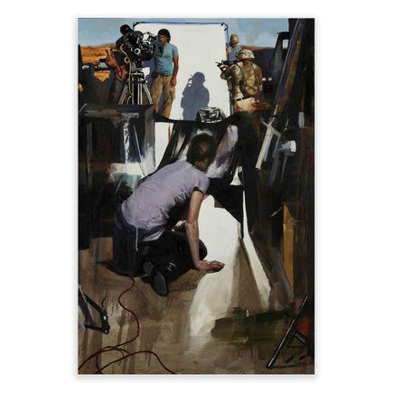 Adam Caldwell Original Art - The Veil of Illusion - Original Artwork