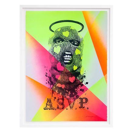ASVP Art Print - Balaclava - Neon Edition