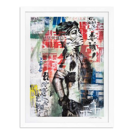 Eddie Colla Art Print - 20 of 40 - Without Excuse - Hand-Embellished Edition