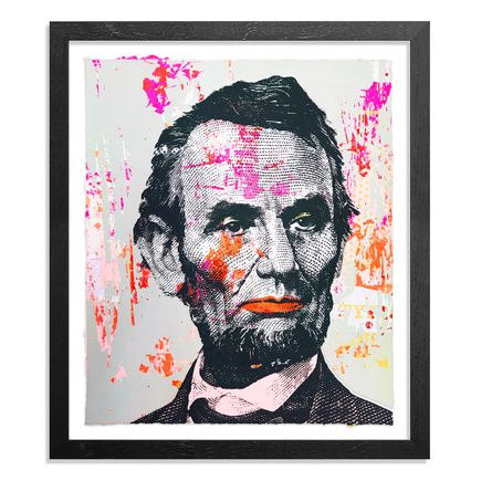 Greg Gossel Art Print - Honest Abe - 20