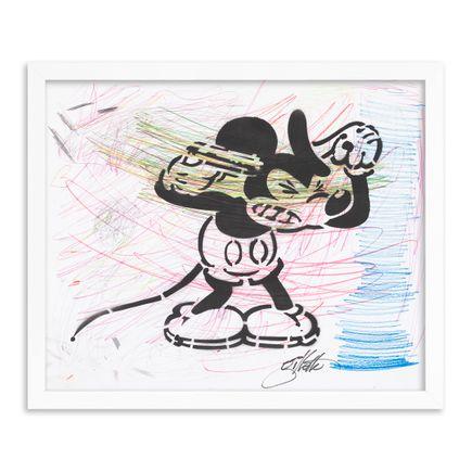 Jeff Gillette Original Art - 17 - Mickey Suicide - Part II - Hand-Painted Multiples