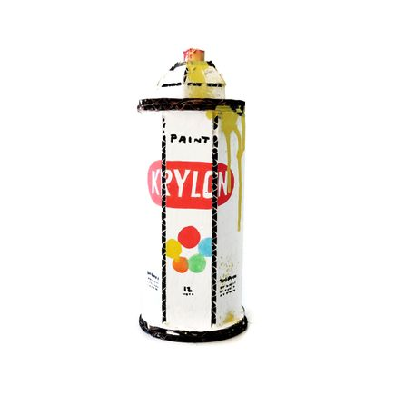 Bill Barminski Original Art - Spray Can - Krylon - Yellow