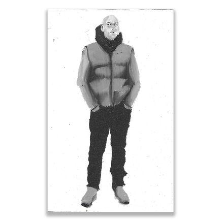 Brett Amory Original Art - Lil Waiter XXI