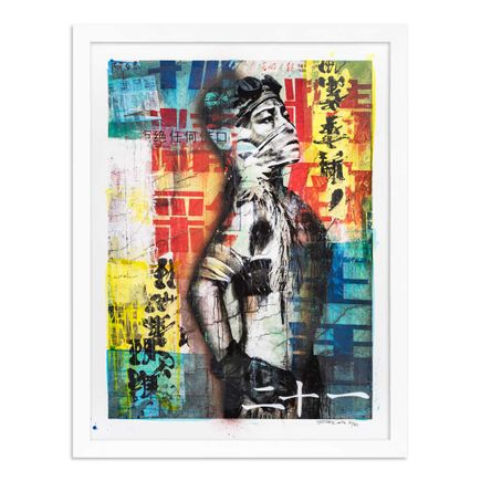 Eddie Colla Art Print - 21 of 40 - Without Excuse - Hand-Embellished Edition