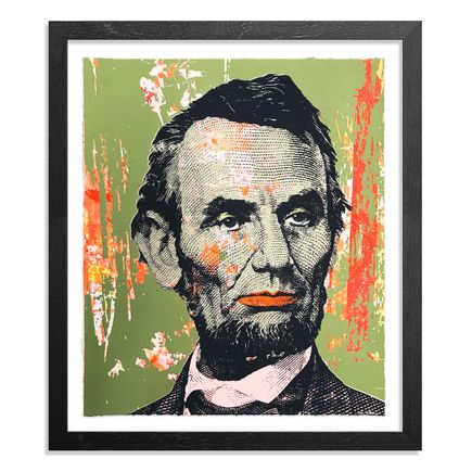 Greg Gossel Art Print - Honest Abe - 21