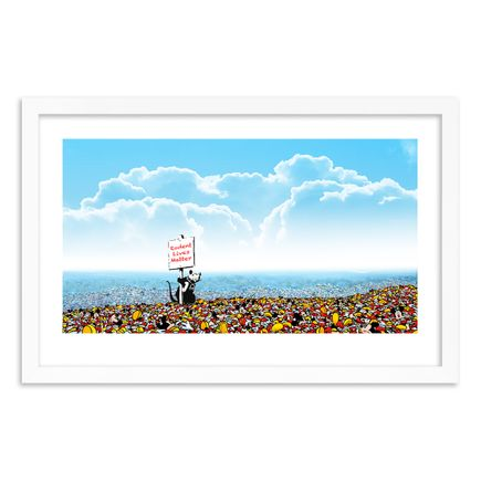 Jeff Gillette Art Print - 21 of 25 - Mickey Landfill - Hand-Painted Multiple
