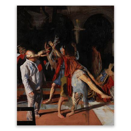 Adam Caldwell Original Art - The Oath - Original Artwork